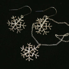Load image into Gallery viewer, Snowflake Earrings