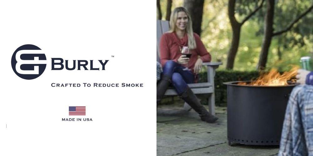Burly Smokeless Fire Pits   Made in the USA