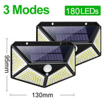Lámpara Solar de pared LED para exteriores 100 leds/180 leds