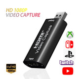 Tarjeta de captura de vídeo Mini HD 1080P HDMI a USB 2.0