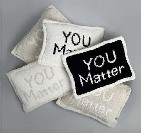 kashwere you matter pillow