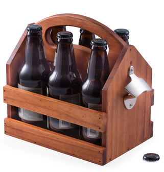 Bottle Caddy with Opener
