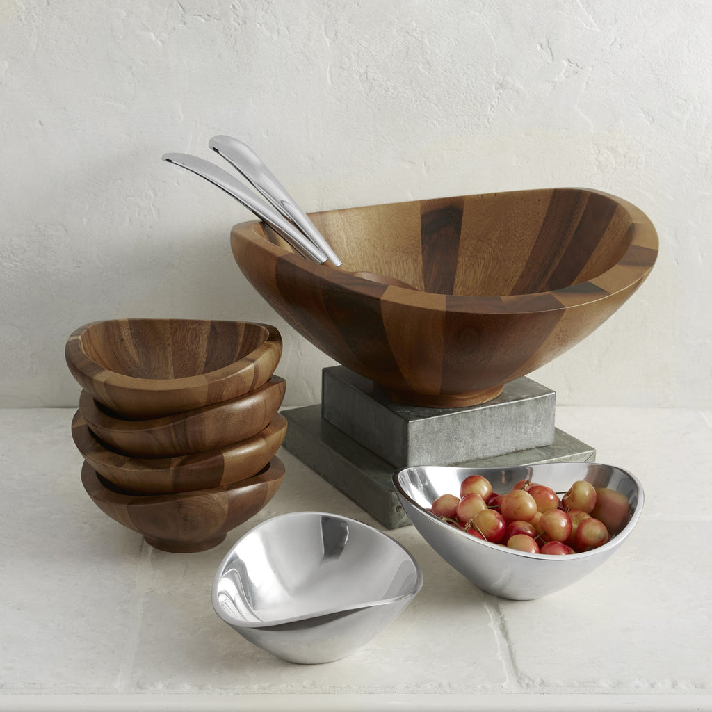 Butterfly Salad Bowl with Spreaders