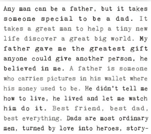 typewritten_sign_father_dad_wall_decor