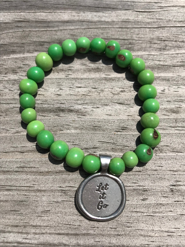 Let it go acai seeds of life bracelet