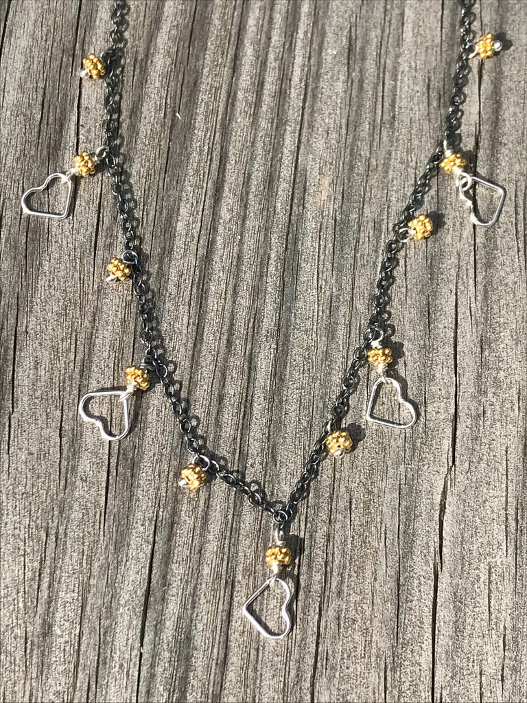 Mini open heart sparkler by Tashka by Beatrice