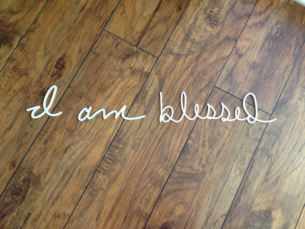 Affirmation - I am blessed