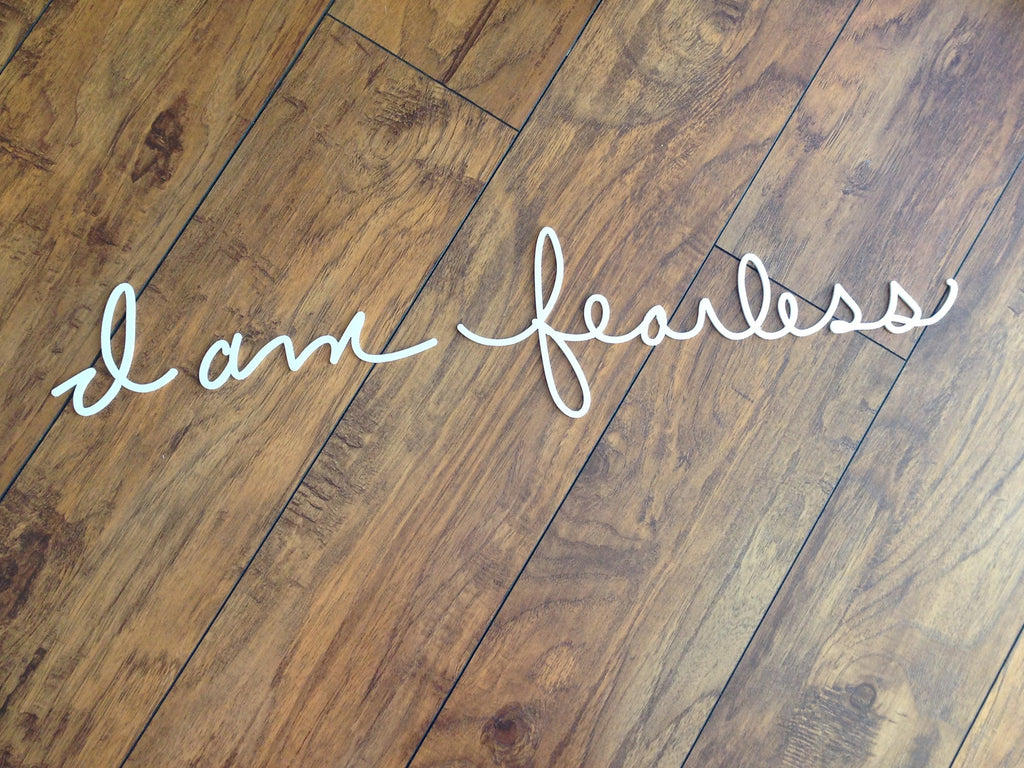 Affirmation - I am fearless