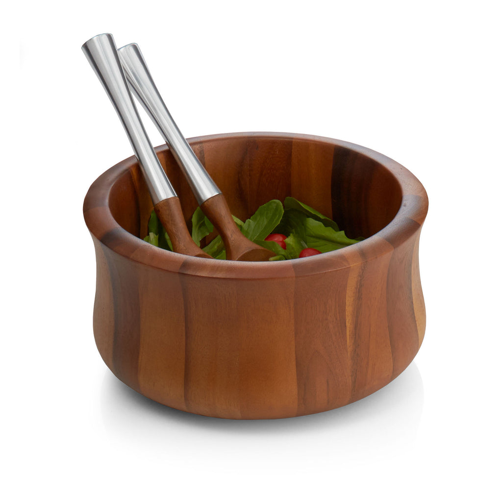 Nara Salad Bowl with Servers