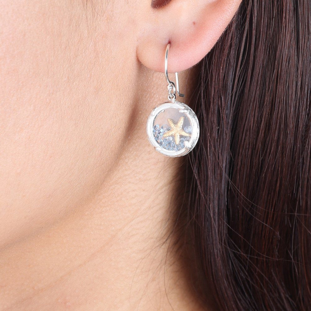 Shaker Earring with Starfish
