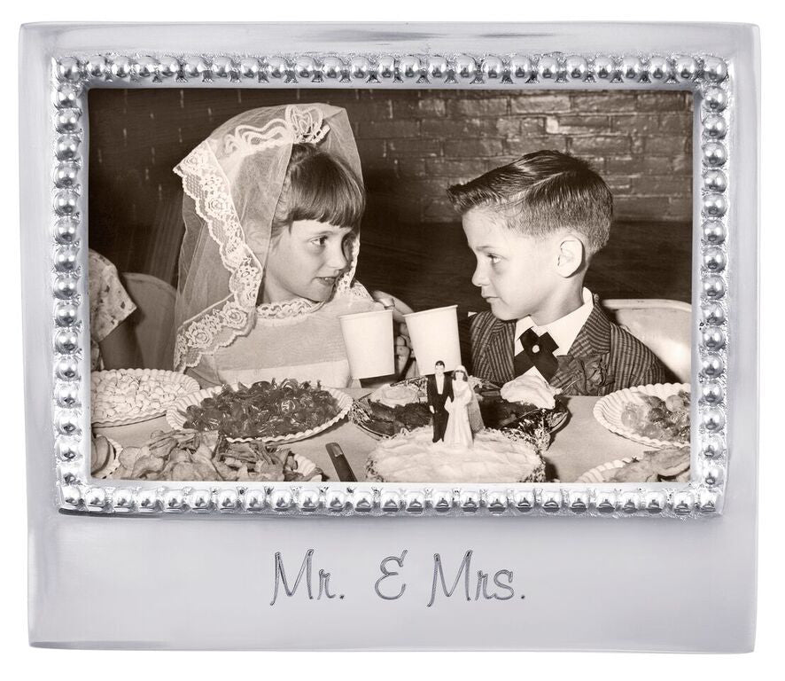 Mr & Mrs - Statement Frame 4x6