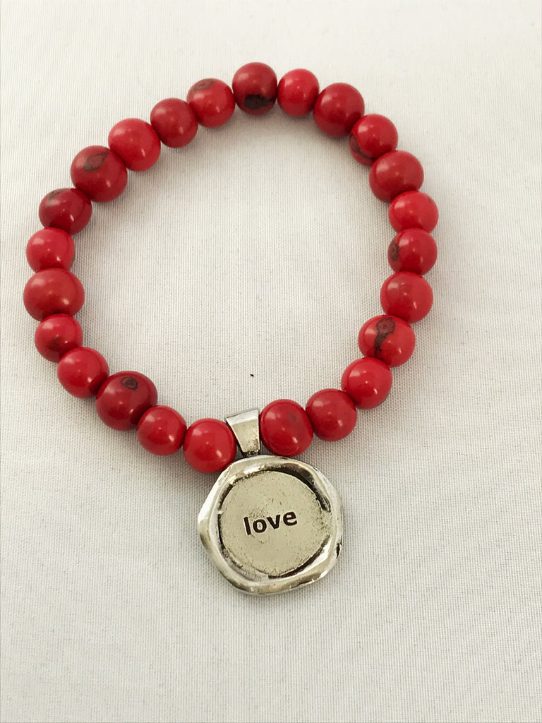 love acai seeds of life bracelet