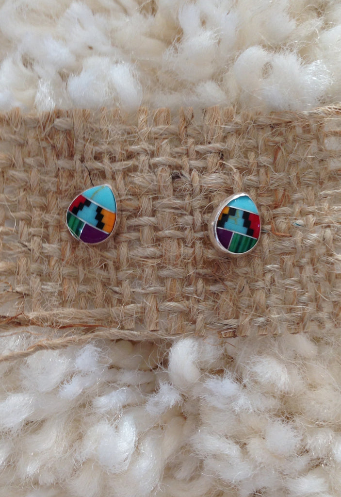 Marfa Teardrop Post Earring