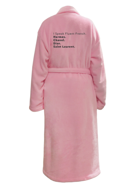 I speak Fluent french. Hermes. Chanel. Dior, Saint Laurent. robe