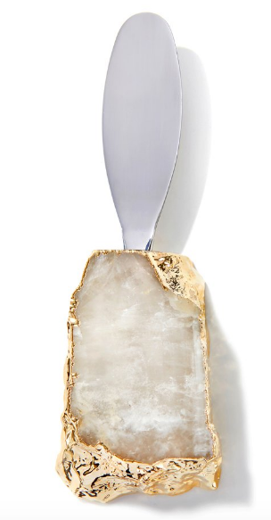 Kiva Single Spreader crystal and gold by Anna by Rablabs