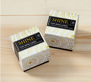 Shine thoughtful cards by compendium live inspired
