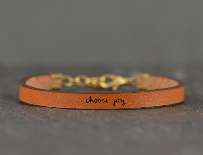 Inspiration Leather Bracelets