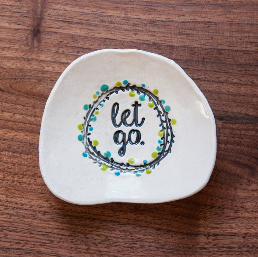 Inspiration Dish - Let Go