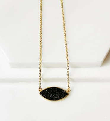 Black Diamond Eye Pendant