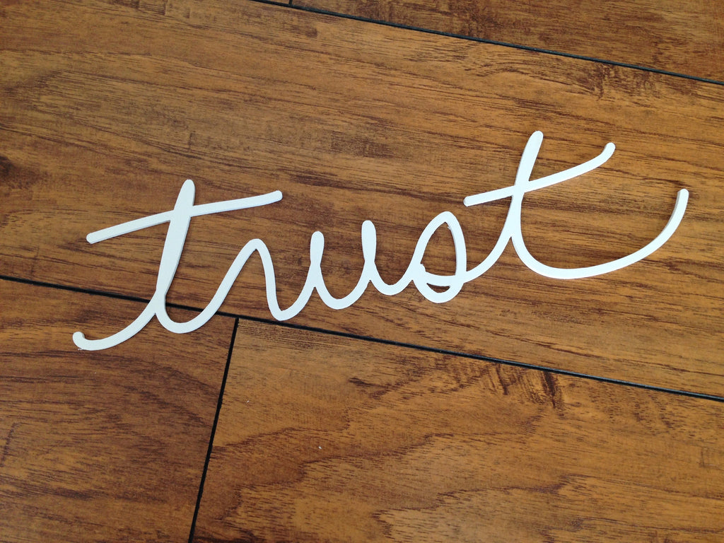 Trust - Salvaged Word