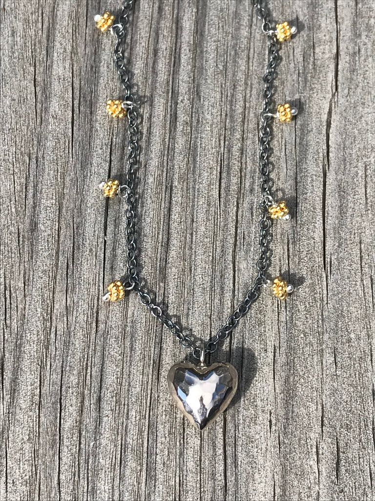 Tashka by Beatrice heart pendant