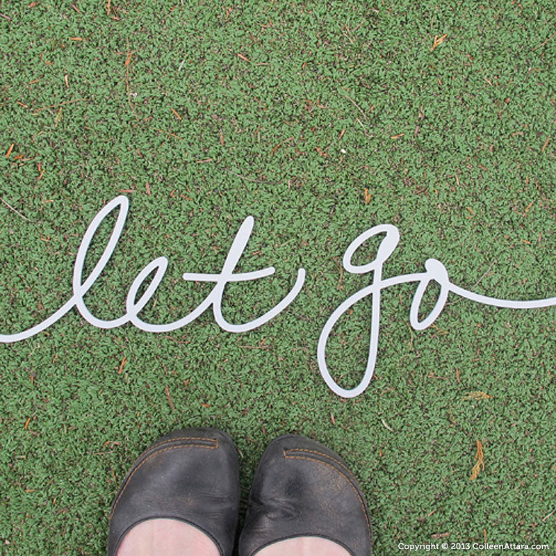 Let Go: Salvaged Word
