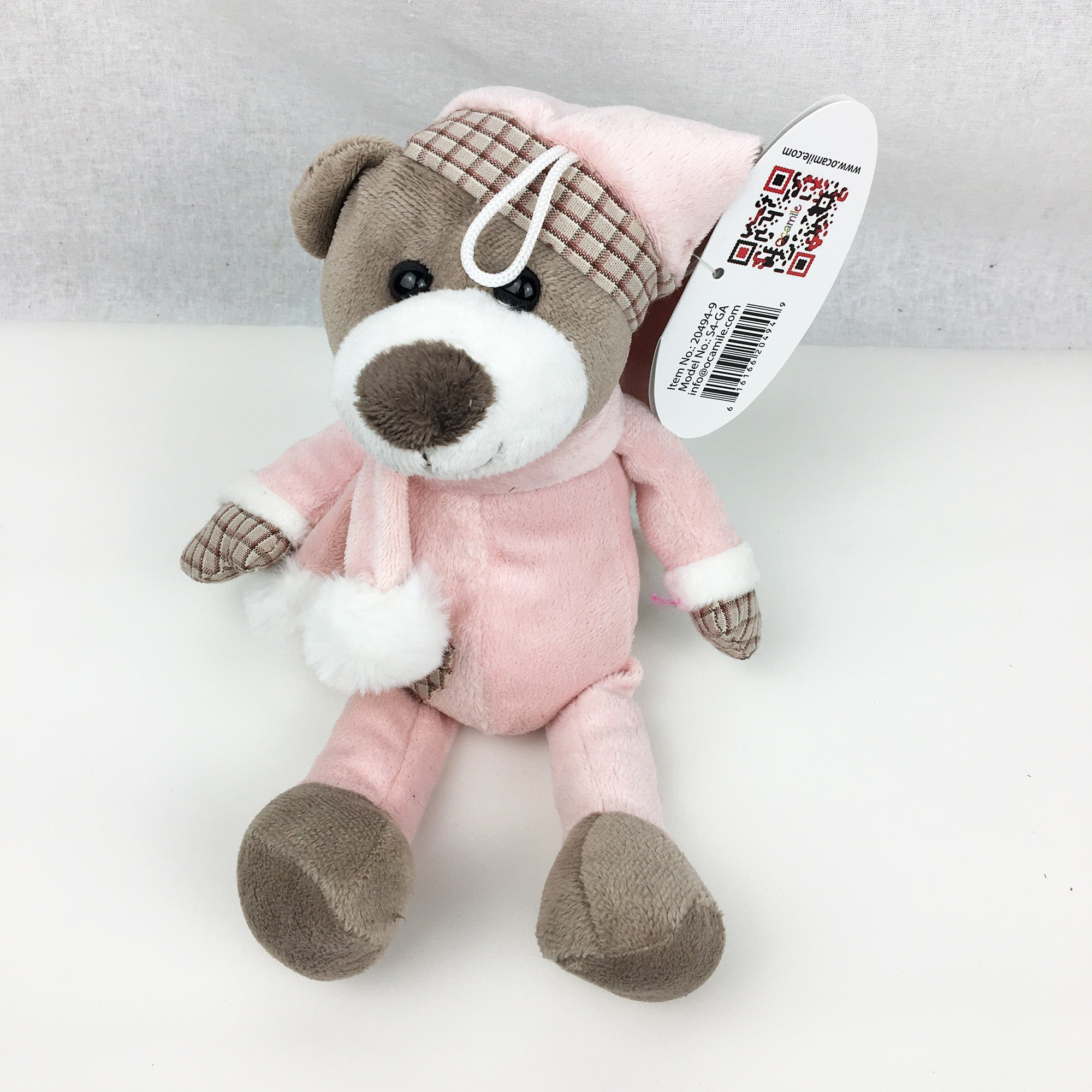 Ourson rose - Peluche original