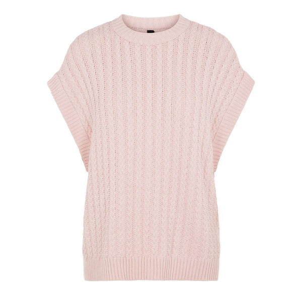 YASVanilla Knitted Top Pink