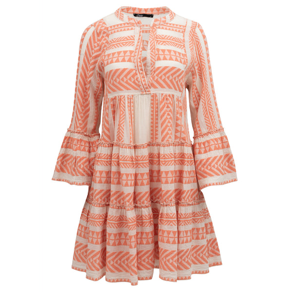 Devotion Ella Dress Salmone Pink