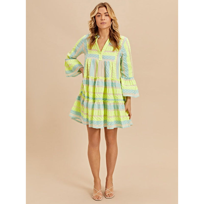 Devotion Twins Short Dress Neon Ella 0203193GD