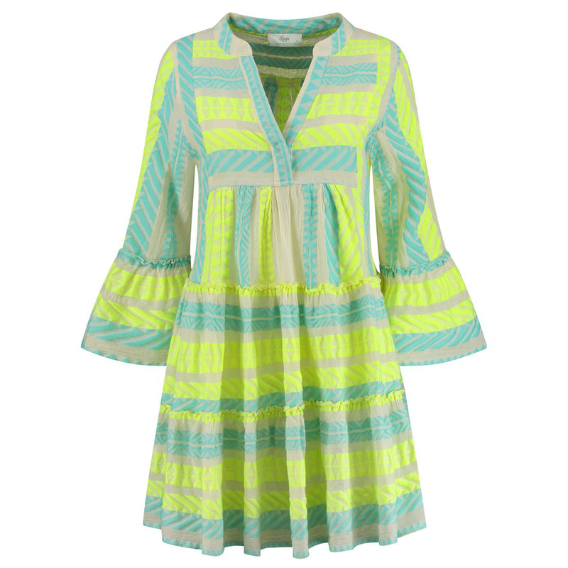 Devotion Short Ella Dress Neon