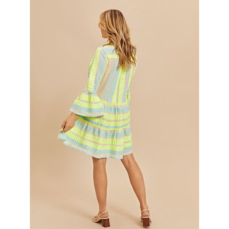Devotion Twins Short Dress Neon Ella