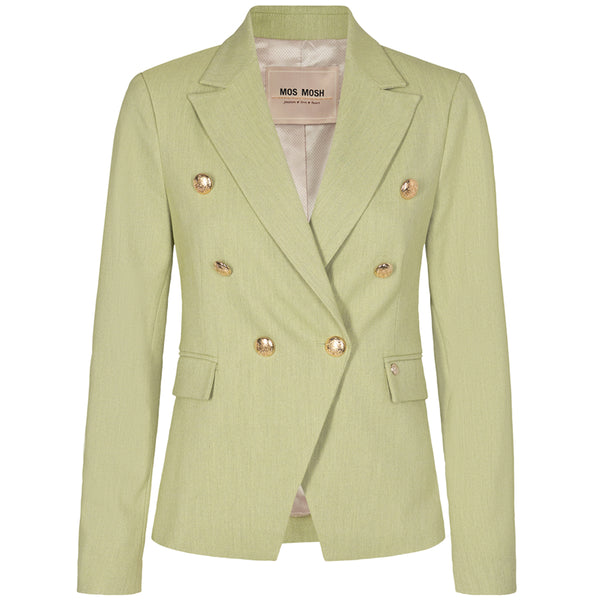 Mos Mosh Beliz Twiggy Blazer Sustainable Winter Pear