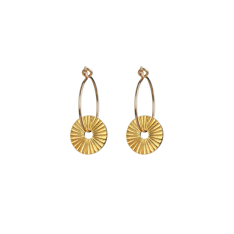 One & Eight Gold Surfside Earrings