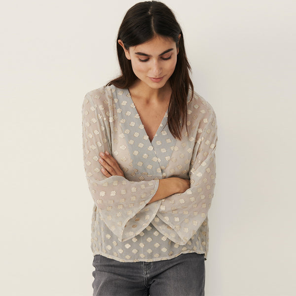 Part Two CillaPW Top 30305999 Flint Grey