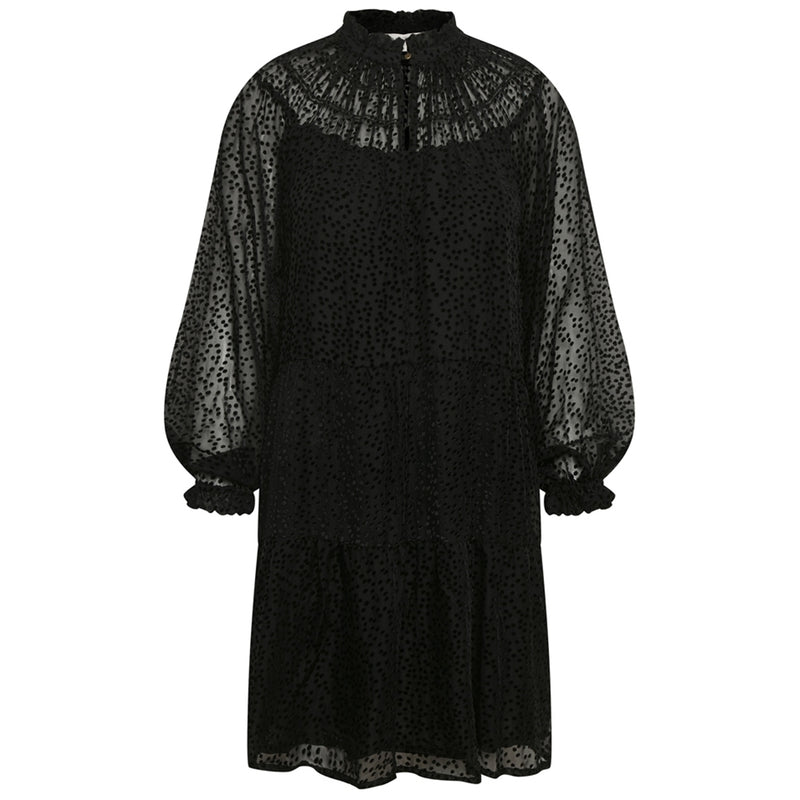 Black Loose FrydPW Dress
