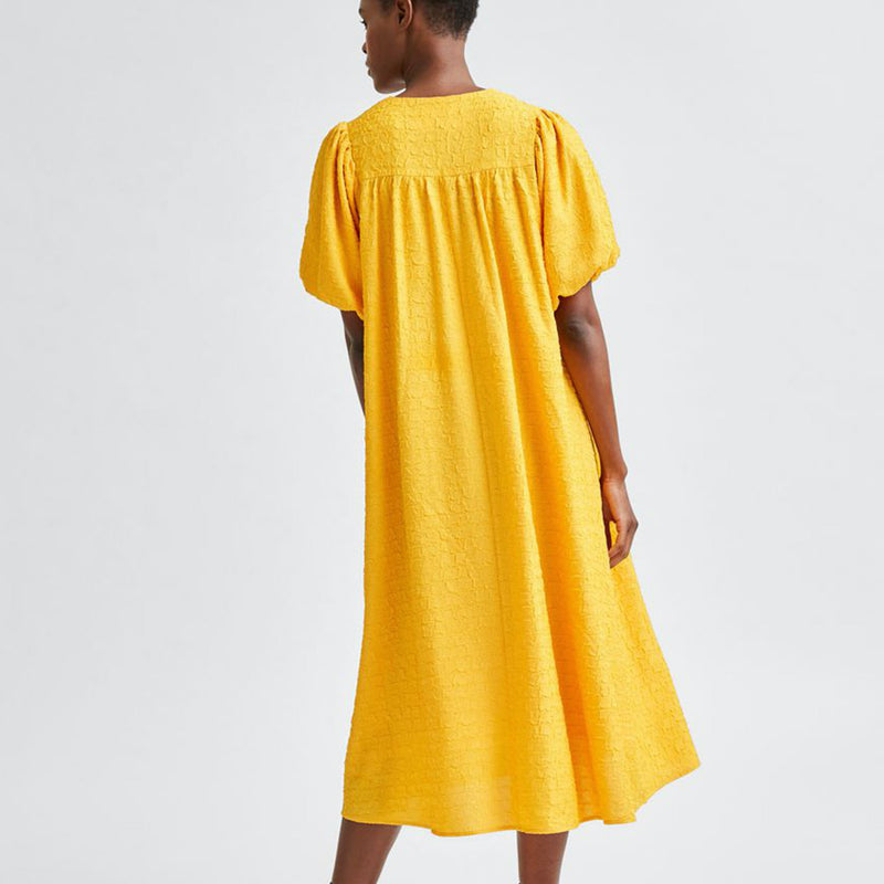 Selected Femme Flissy 2/4 Midi Wrap Dress