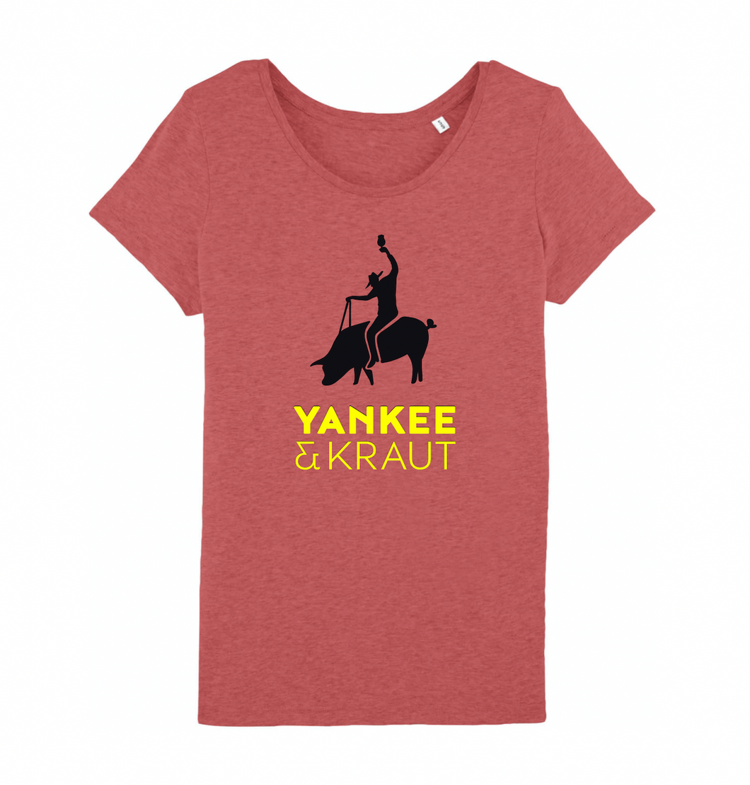 Women's T-Shirt - Mid Heather Red