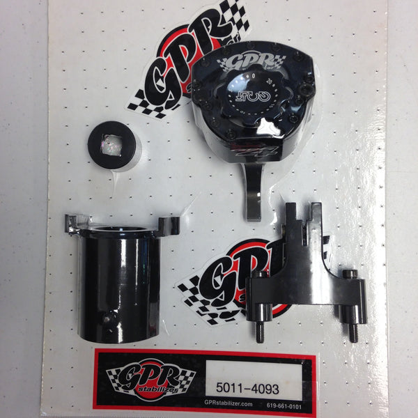 GPR V4 Sport Steering Stabilizer for Honda ST1300 (All Years), Part # 5011-4093, Multiple Colors Available