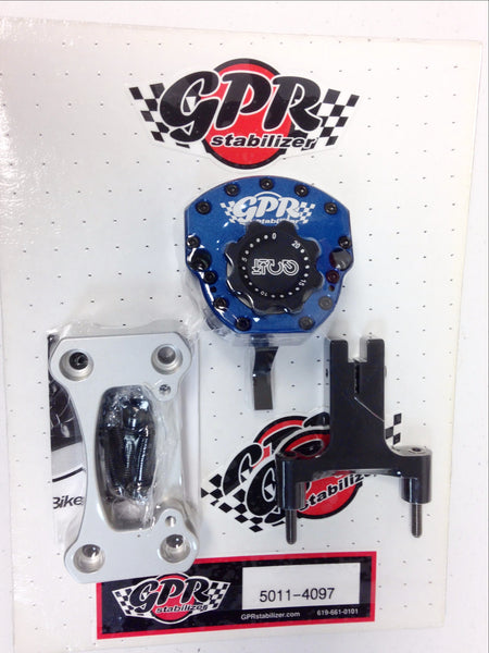 GPR V4 Sport Steering Stabilizer for Triumph Street Triple (2012-2015), Part # 5011-4097, Multiple Colors Available