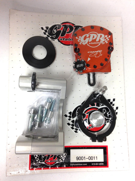 GPR V4 Dirt Fat Bar Steering Stabilizer for KTM EXC (00-07), MXC (00-05) & SX (00-04), Part # 9001-0011, Multiple Colors Available