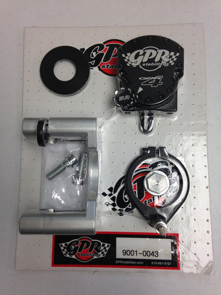 GPR V4 Dirt Fat Bar Steering Stabilizer for KTM SX/XC/XCF/XCW (2009-2011), Part # 9001-0043, Multiple Colors Available