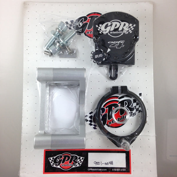 GPR V4 Dirt Fat Bar Steering Stabilizer for Yamaha YZ450F (2010-2013), Part # 9001-0048, Multiple Colors Available