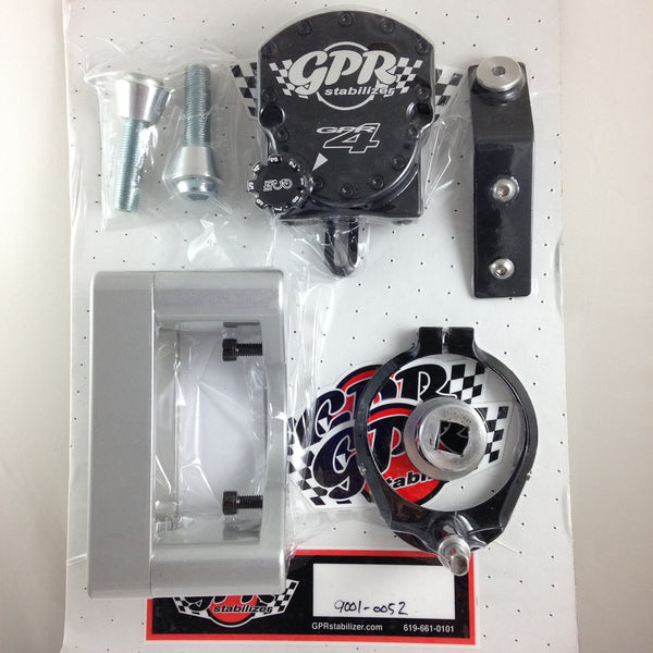 GPR V4 Dirt Fat Bar Steering Stabilizer for Honda CRF450X (2005-2007), Part # 9001-0052, Multiple Colors Available