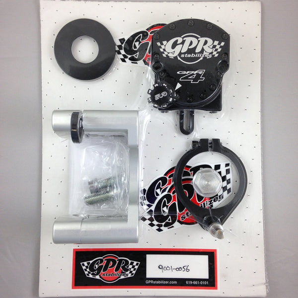 GPR V4 Dirt Fat Bar Steering Stabilizer for KTM EXC (2008-2009), Part # 9001-0056, Multiple Colors Available