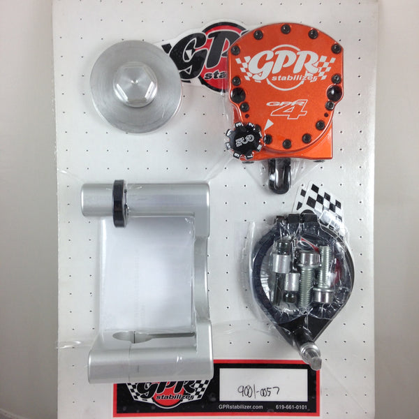 GPR V4 Dirt Fat Bar Steering Stabilizer for KTM EXC (2010-2011), Part # 9001-0057, Multiple Colors Available