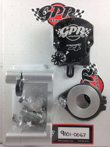 GPR V4 Dirt Fat Bar Steering Stabilizer for KTM EXC/XCW/XCF-W (2012-2015), Part # 9001-0067, Multiple Colors Available