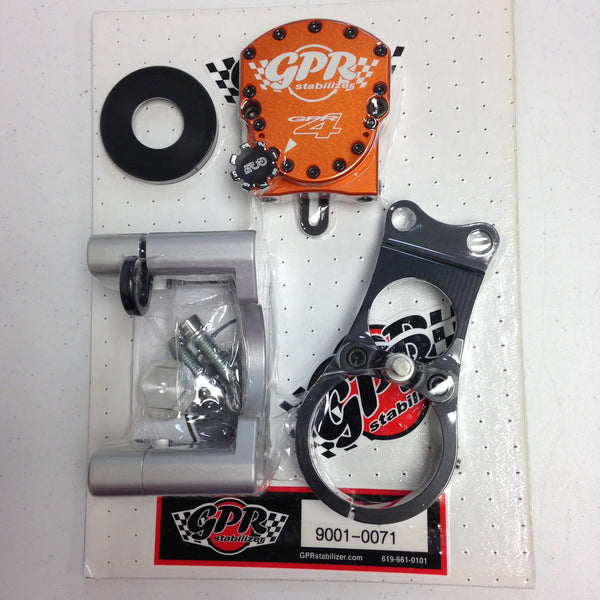 GPR V4 Dirt Fat Bar Steering Stabilizer for KTM 690 S. Enduro (2012-2015), Part # 9001-0071, Multiple Colors Available