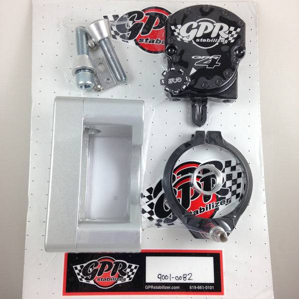 GPR V4 Dirt Fat Bar Steering Stabilizer for Yamaha WR450F (16-18), Part # 9001-0082, Multiple Colors Available