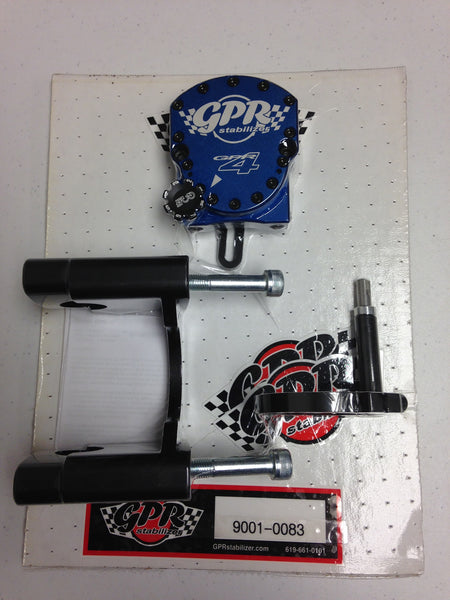 GPR V4 Dirt Fat Bar Steering Stabilizer for Suzuki DR650 (1996-2013), Part # 9001-0083, Multiple Colors Available